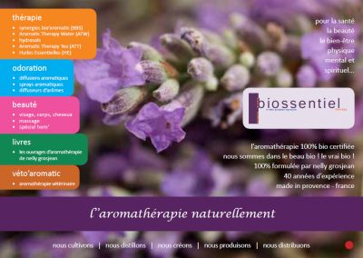 Biossentiel Catalogue